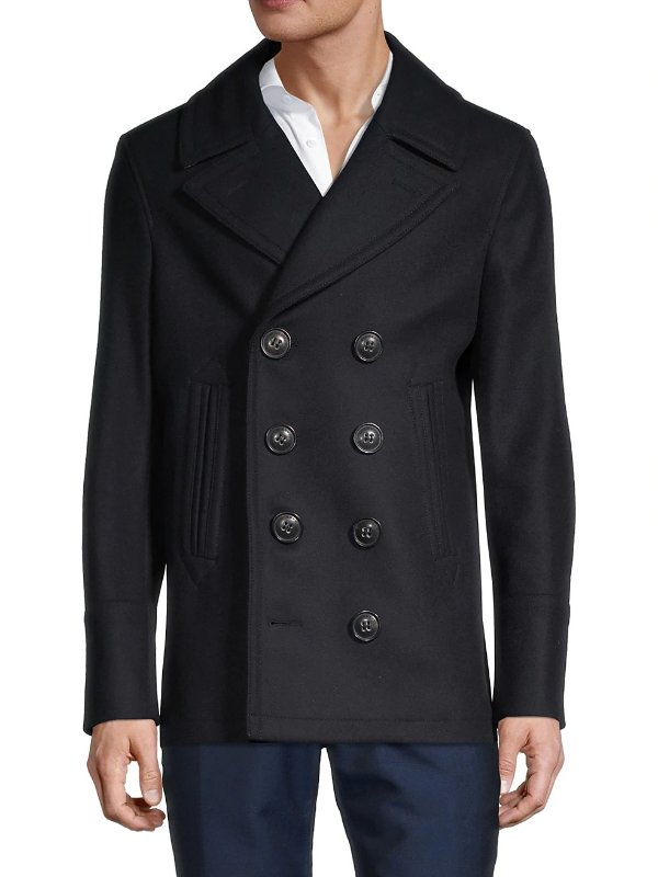 羊绒混纺大衣
