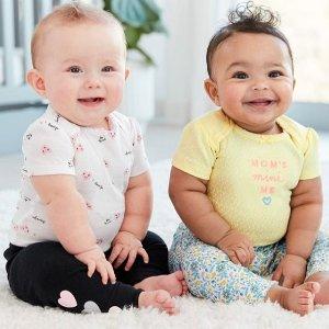 低至5折Carters 儿童服饰特卖 多种套装码数齐全