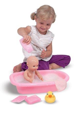 $12.72Melissa & Doug 儿童洗澡玩具套装,让宝宝爱上洗澡~