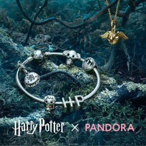 通知书、死亡圣器等都有Pandora X 哈利波特 全新联名系列上架 Magic Is Everywhere