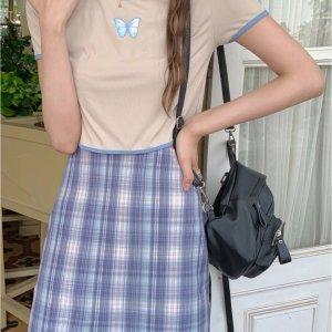 低至€1.89收一字肩上衣这个夏天全民BM风 想跟Blackpink撞衫吗?做一枚甜酷girl