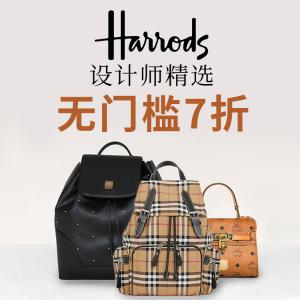 无门槛7折 $657入mini faye一年一次:Harrods 设计师精选大牌热卖  Valentino、BBR、Chloe这里买!
