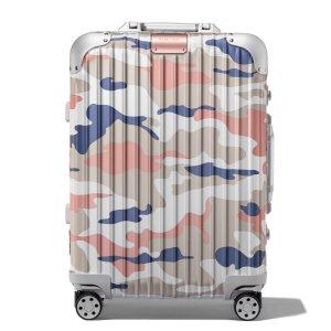 铝镁合金行李箱 粉色迷彩