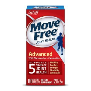 Move FreeBuy 1 Get 1 FreeSchiff Move Free Advanced Triple Strength Glucosamine Chondroitin, Coated Tablets
