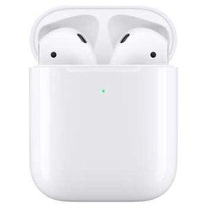 $169.99 仅比有线盒原价贵$10史低价:AirPods 2 无线充电盒款
