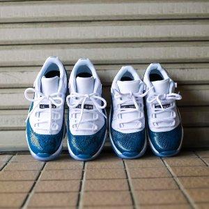 """$155(原价$185)+包邮Air Jordan XI Low """"Navy""""运动鞋"""