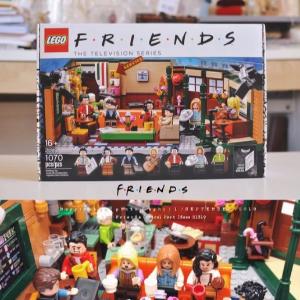 $79.99(原价$89.99)补货:LEGO 乐高 老友记 中央公园咖啡馆 21319