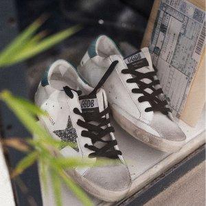额外8.5折+包税直邮中国Golden Goose 小脏鞋精选热卖,经典款涂鸦小脏鞋£297