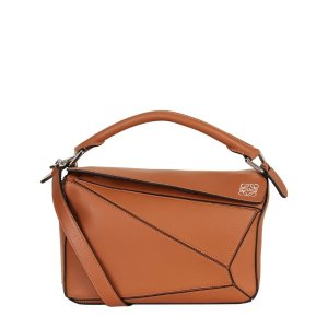 LoeweSmall Leather Puzzle Bag