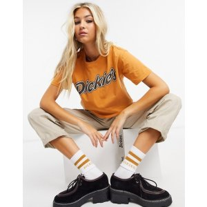 Dickiesrelaxed crop t-shirt with front logo | ASOS