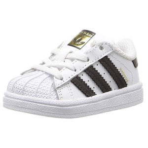 $29.87(原价$45)+包邮adidas Superstar 儿童运动休闲鞋,100%真皮