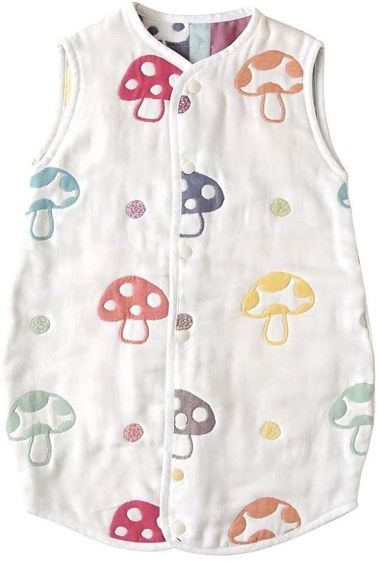 Hoppetta champignon 6重纱布 睡衣