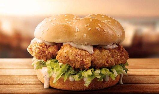 KFC Double Tender汉堡$4.95KFC Double Tender汉堡$4.95