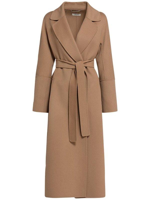 ELISA 经典系带大衣