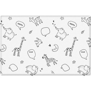 ParklonBaby Soft Play Mat Large Size - Animal Talk
