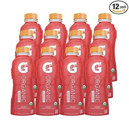 有机能量饮品 草莓味12瓶