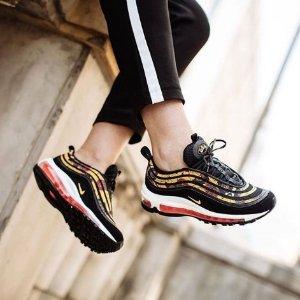 低至3折 Air Max 97再降价折扣升级:Nike 女生潮鞋专场 吸睛度百分百