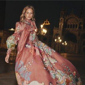 2.1折起!£273收雪纺裙Zimmermann 夏促升级 仙女裙天花板 收大热连衣裙