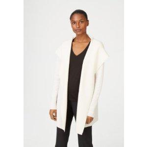 羊毛系带外套 两色可选
