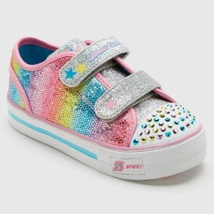 609a0193ca76b Toddler Girls  S Sport By Skechers Skyla Double Strap Easy Closure Sneakers