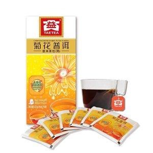 TAETEA菊花普洱茶包25袋
