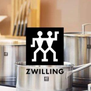 仅一天!€26收菜刀 €31收套装Zwilling 双立人闪促专场 低至3.7折 收高品质厨具
