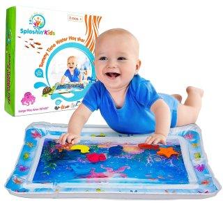 $15.99(原价$29.99)Splashin'kids 婴儿玩乐水垫 夏天的趴卧游戏更多乐趣