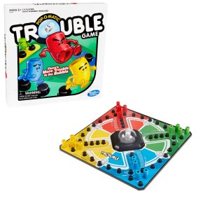 HasbroPrice DropTrouble Board Game for Kids Ages 5 and Up 2-4 Players