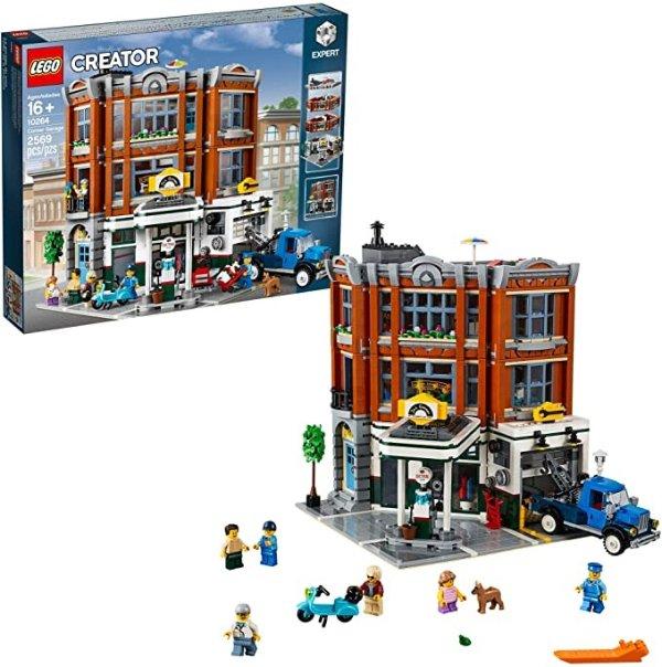 转角的停车场  10264 Building Kit (2569 Pieces)
