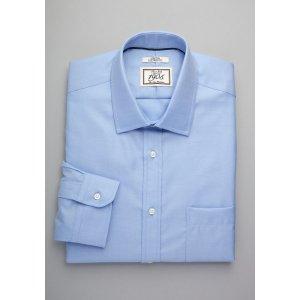 1905 Collection Slim Fit Spread Collar Dress Shirt - Men's Pink Apparel | Jos A Bank