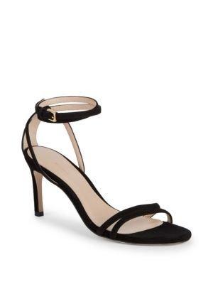 黑色一字带高跟鞋