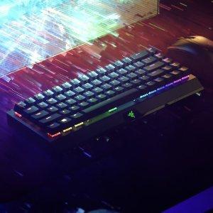 $179.99 黄轴/绿轴可选新品上市:Razer BlackWidow V3 Mini 无线版机械键盘