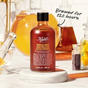 $42起+自选护肤中样上新:Kiehl's 科颜氏嫩肤抗氧化精华水 敏感肌也可选择的刷酸瓶