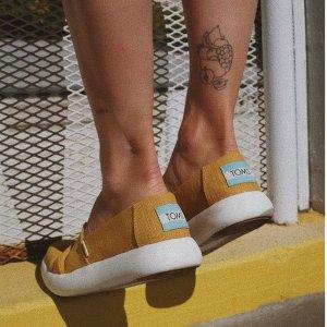 一律7折 纯色一脚蹬好价入TOMS 人气鞋履限时热卖 毛茸茸拖鞋$27 舒适一百分