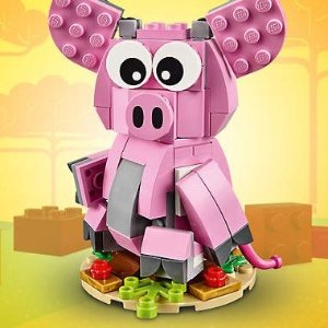 满额送3重好礼含金猪LEGO 乐高官网迎新春特卖  收新品街角停车场(10264)