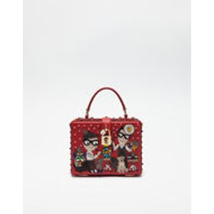 Dolce Box Bag With Designer Patch - Women | Dolce&Gabbana