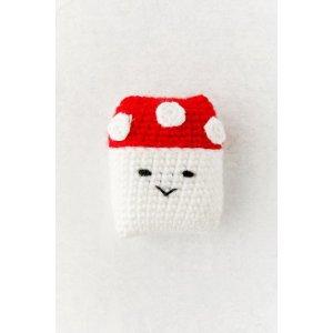 AirPods 红蘑菇编织外壳