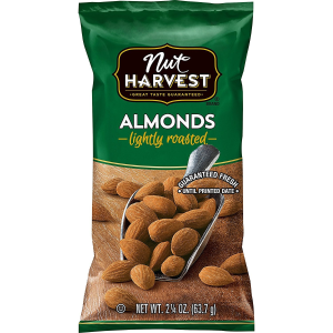 As Low As $12.02Nut Harvest Nut & Chocolate Mix, 2.25 Ounce (Pack of 16)