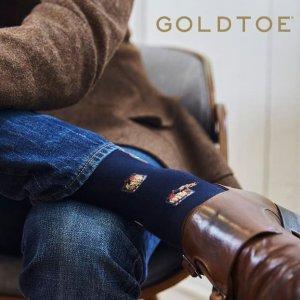 低至4折  袜子界高富帅白富美Gold Toe 黄金脚趾男袜女袜热卖