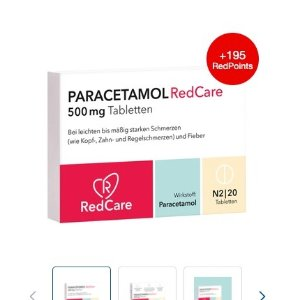 Paracetamol 500 mg 对乙酰氨基酚 特殊时期 每个账户只能买一盒