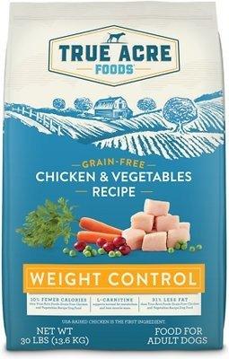 无谷鸡肉蔬菜 控制体重狗粮 30lb