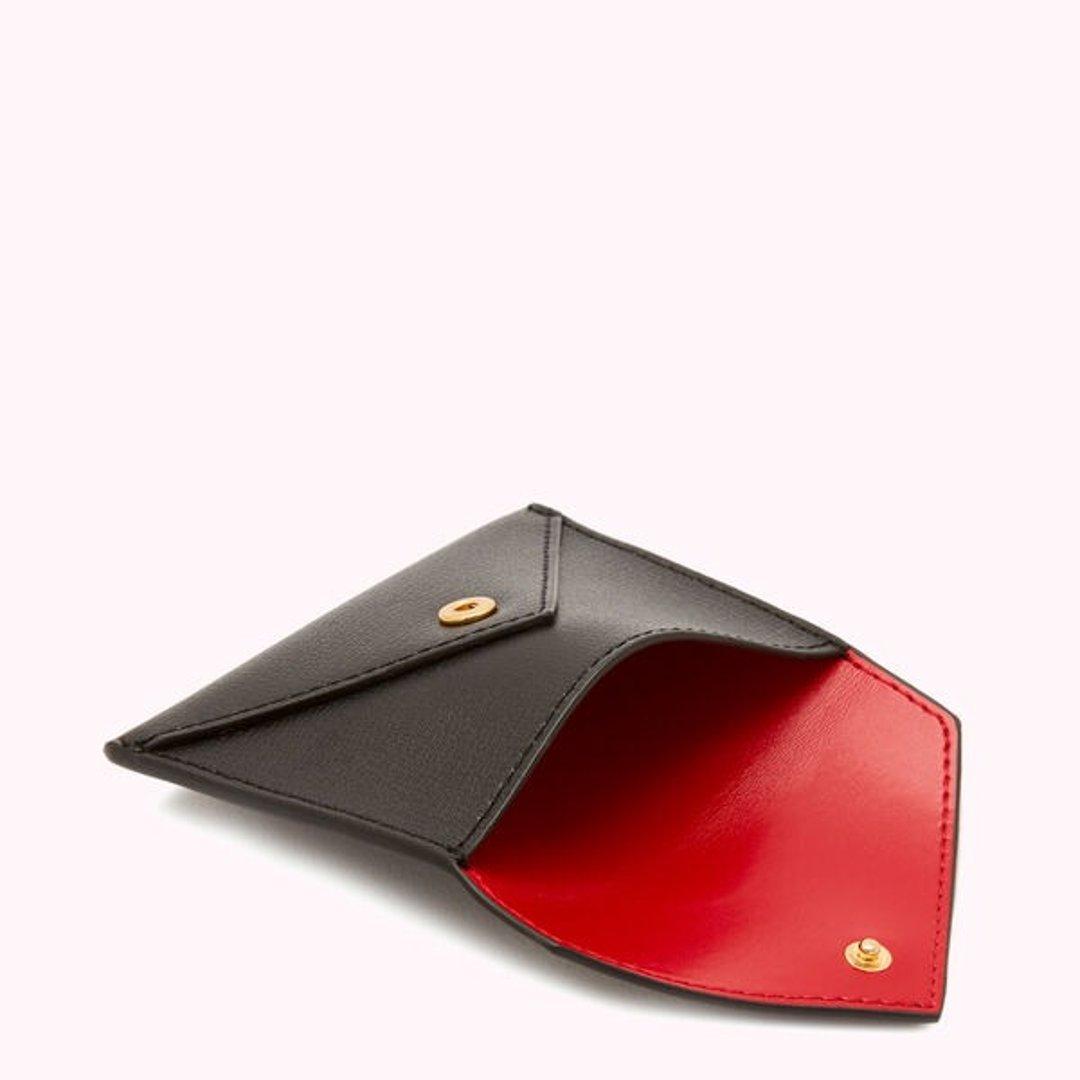 红唇信封卡包
