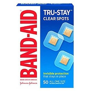 $2.13Band-Aid Brand Adhesive Bandages, Comfort-Flex Clear Spots, 50 Count