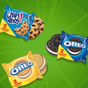 $6.63 每包$0.22Nabisco 奥利奥+趣多多曲奇饼干混合装 30包