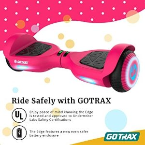 GOTRAX Edge 双电机体感平衡车 粉色