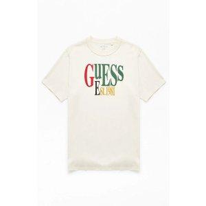 GuessStacked Logo T-Shirt