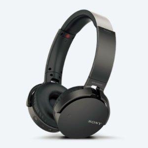 $98(原价$149.95)SONY官网  MDR-XB650BT 重低音无线立体声耳机(黑色)
