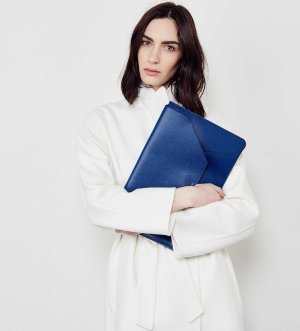 SENREVE Envelope Clutch - Shop Luxury Letter Sized Leather Computer/Laptop Envelope - 100% made in Italy