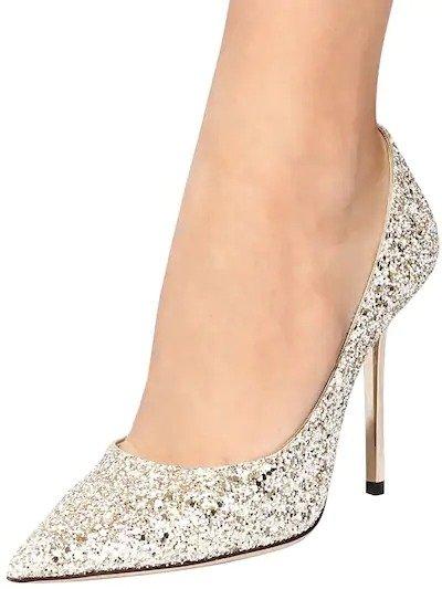 100MM LOVE水晶鞋