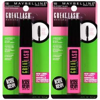 Maybelline New York 防水睫毛膏2支装